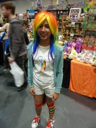 Rainbow Dash is here!