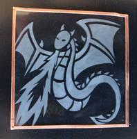 Dragon Glass Etching by shadowwolfox