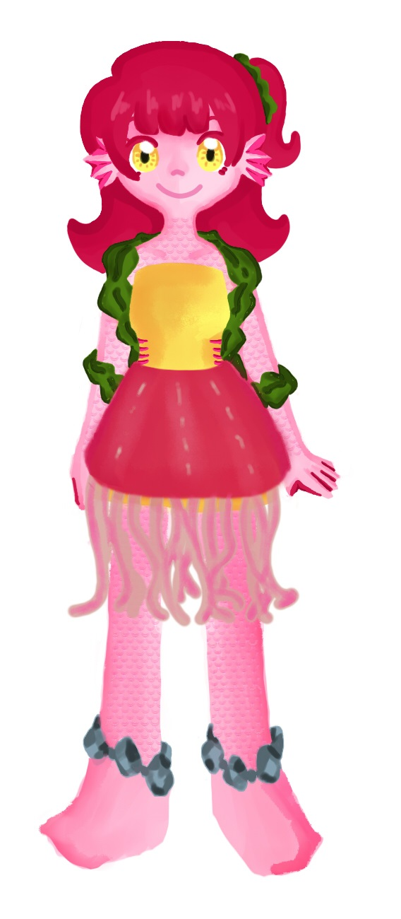 Jellyfishgirl by LeAwesomeAlice
