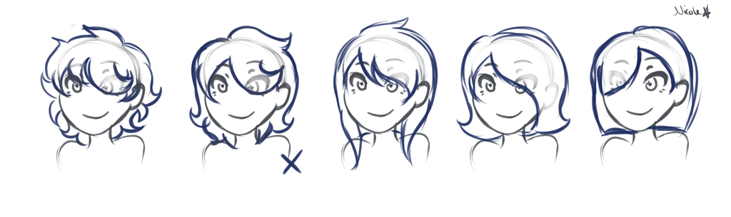 Hairstyles by LeAwesomeAlice