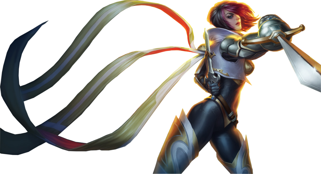 [League of Legends] Fiora (Render) by PopokuPinguPop90 on ...