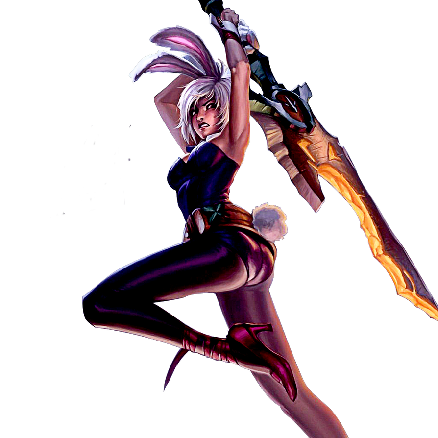 League of Legends] Battle Bunny Riven (Render) by PopokuPinguPop90 on ...Bunny Riven Fan Art