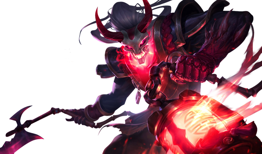 [League of Legends] Blood Moon Thresh (Render) by ... League Of Legends Thresh Png