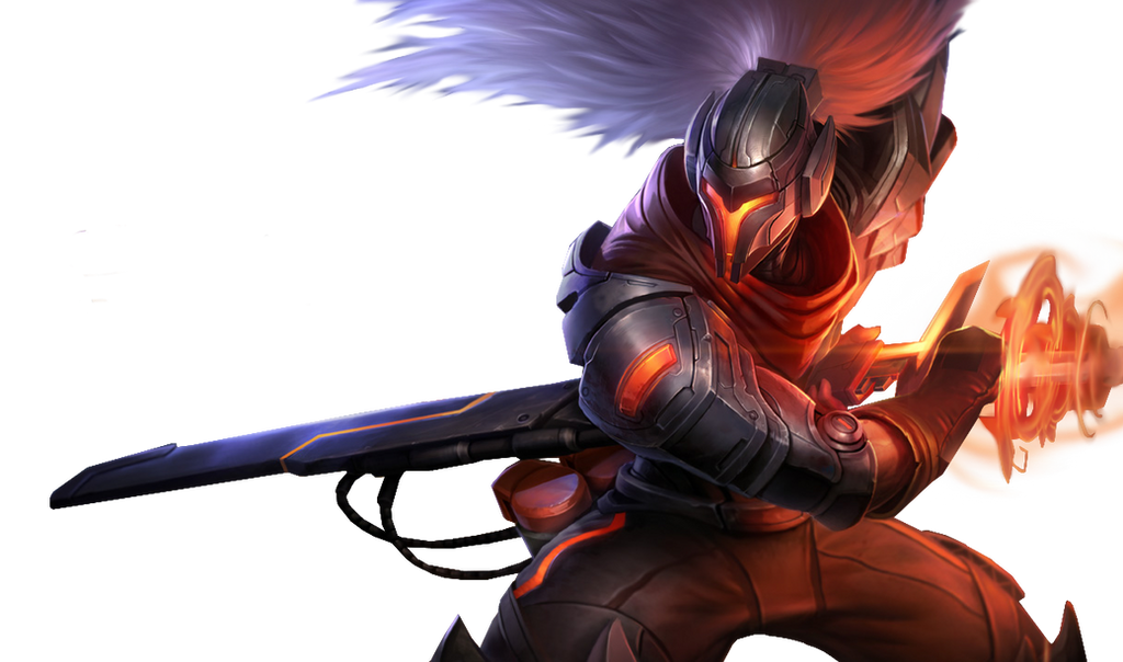 League Of Legends PROJECT Yasuo Render By PopokuPinguPop90