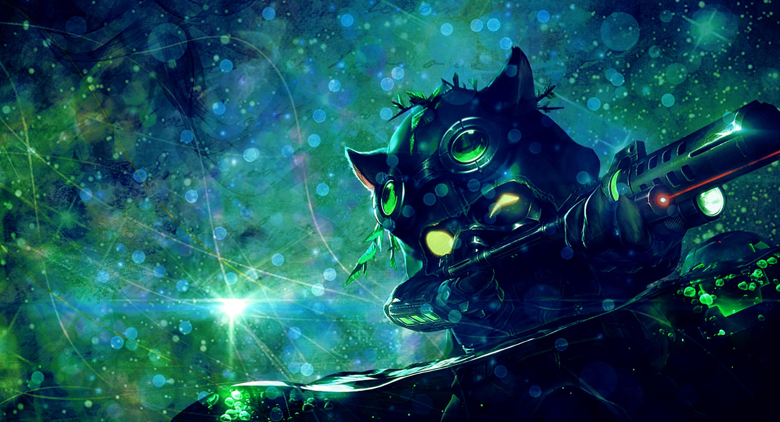 [League of Legends] Omega Squad Teemo (Wallpaper) by ...