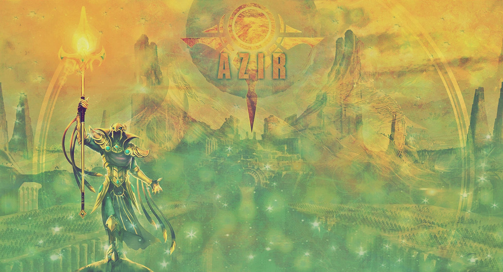 League Of Legends Azir Wallpaper By Popokupingupop90 On Deviantart