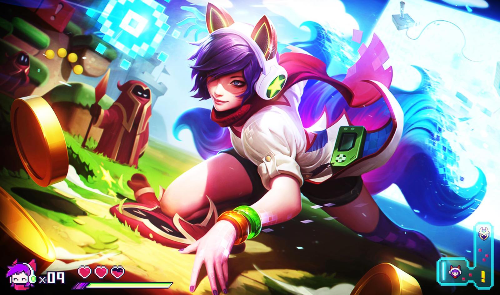 League Of Legends Arcade Ahri Wallpaper By Popokupingupop90 On