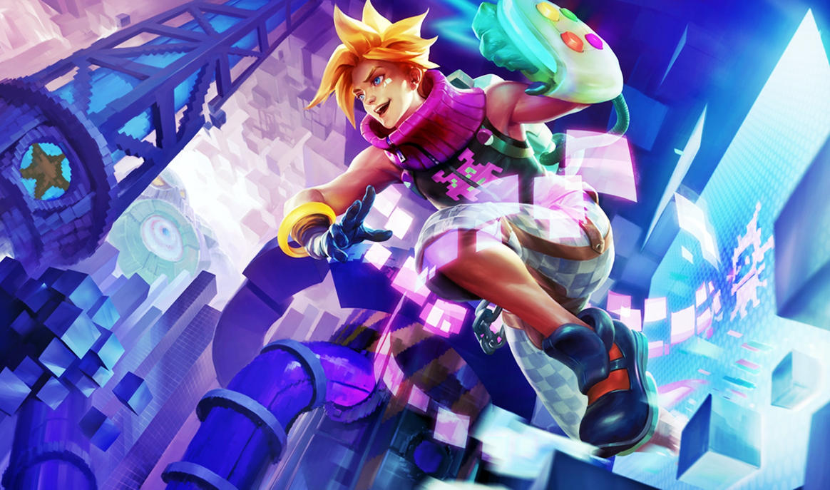 [League of Legends] Arcade Ezreal (Wallpaper) by ...