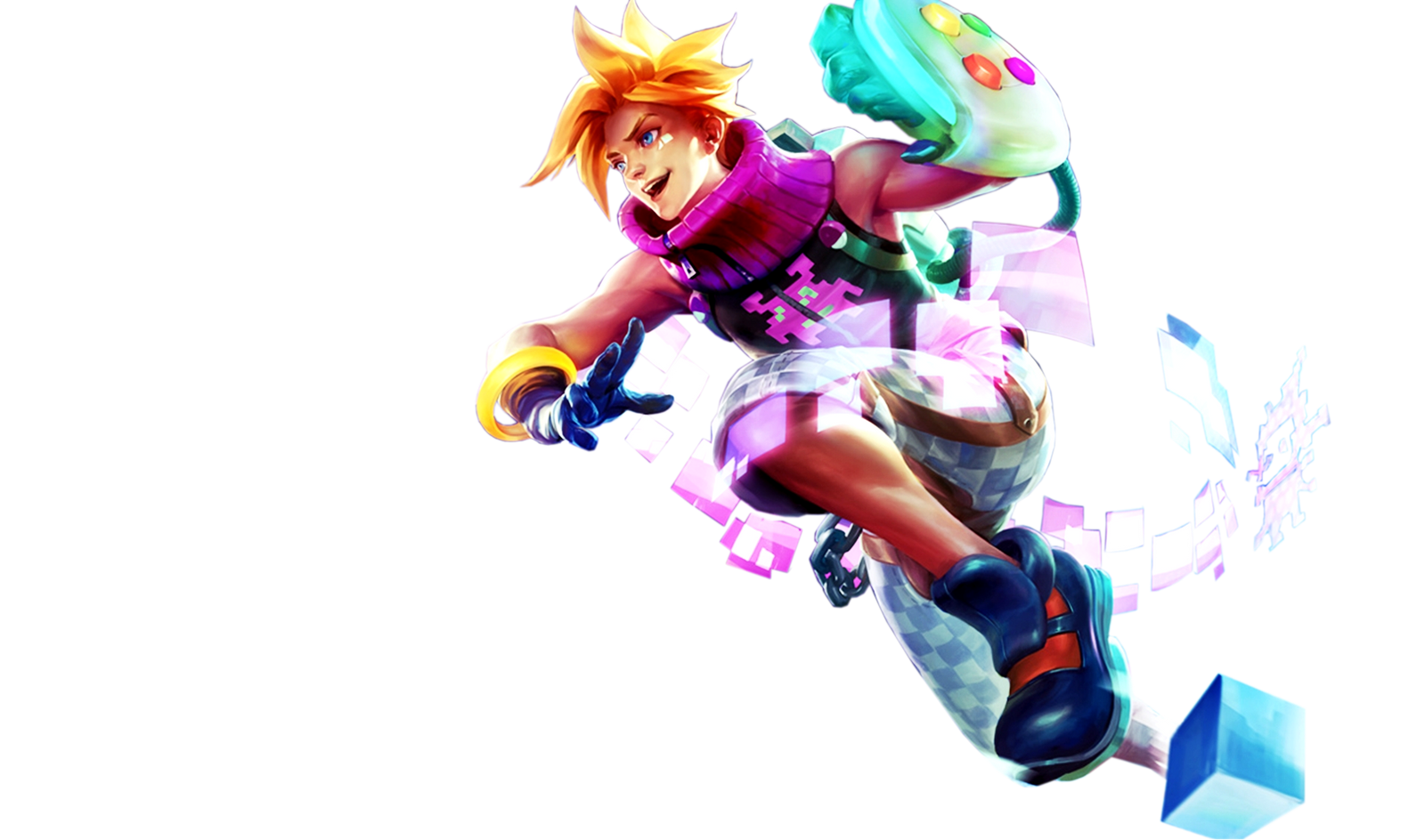 [League of Legends] Arcade Ezreal (Render) by ...