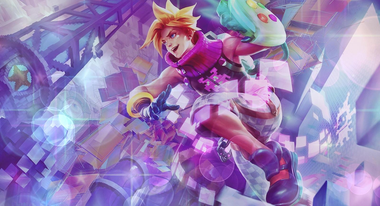 League Of Legends Arcade Ezreal Wallpaper By Popokupingupop90