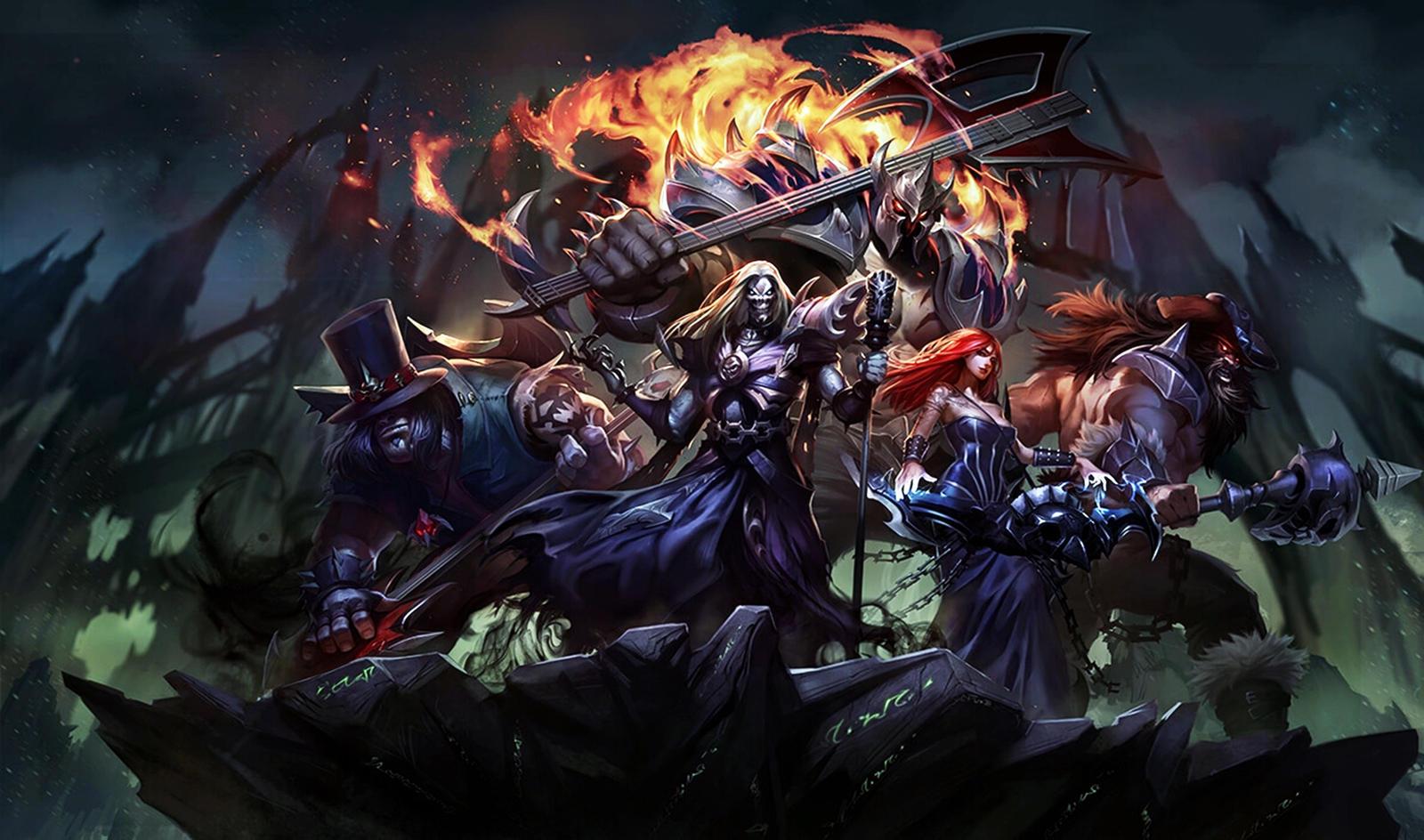 ... PopokuPinguPop90 [League of Legends] Yorick [Pentakill] (Wallpaper) by PopokuPinguPop90