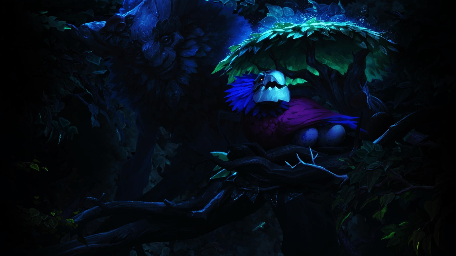 [LoL] Ivern - the Green Father (Wallpaper) by PopokuPinguPop90