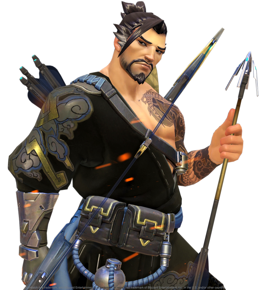 Hanzo Wallpaper: [Overwatch] Hanzo (Render) By PopokuPinguPop90 On DeviantArt