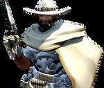 [Overwatch] White Hat McCree (Render)