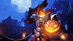[Overwatch] Pumpkin Reaper (Wallpaper)