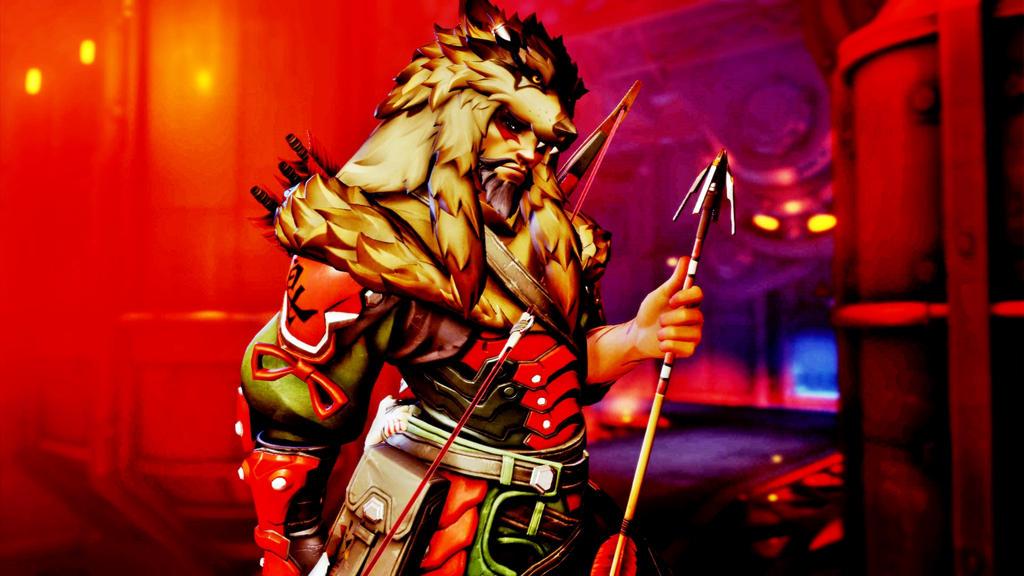 4073e68cc5 Overwatch] Lone Wolf Hanzo (Wallpaper) by PopokuPinguPop90 on DeviantArt