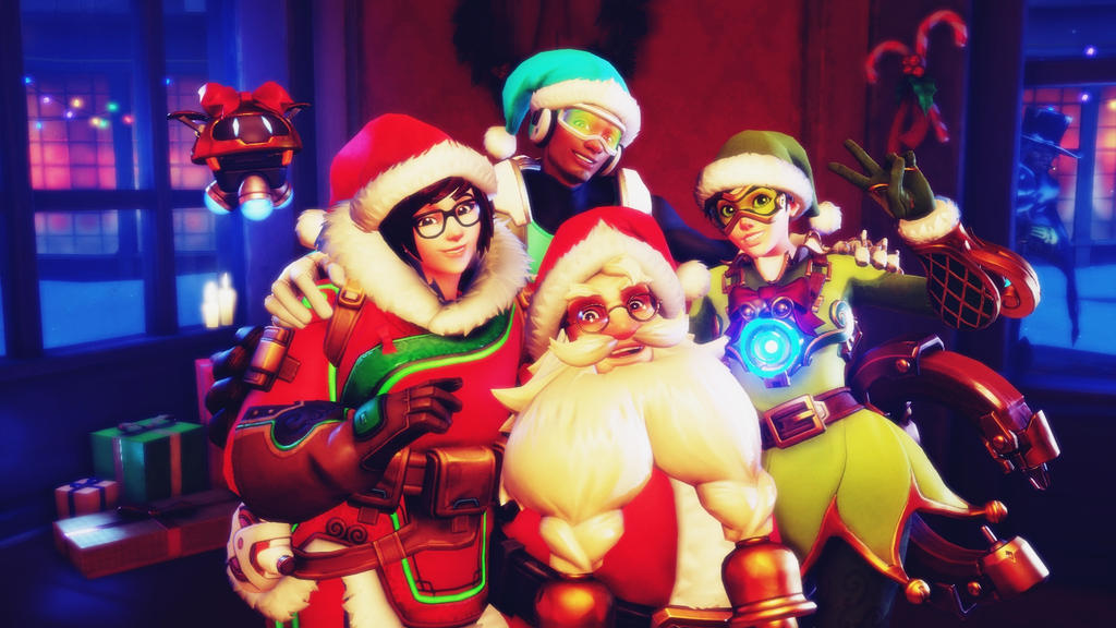 Overwatch christmas time wallpaper by popokupingupop90 - Overwatch christmas wallpaper ...