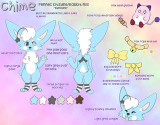 Chime Anthro Ref by cuddlecloud