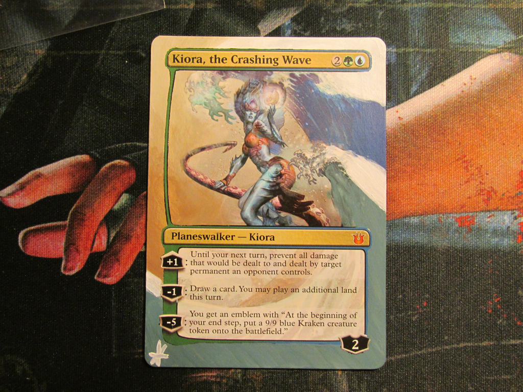 kiora of the crashing wave border extension by hurley