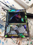 Lazav, Dimir Mastermind Foil-distressed by Hurley-Burley-Alters