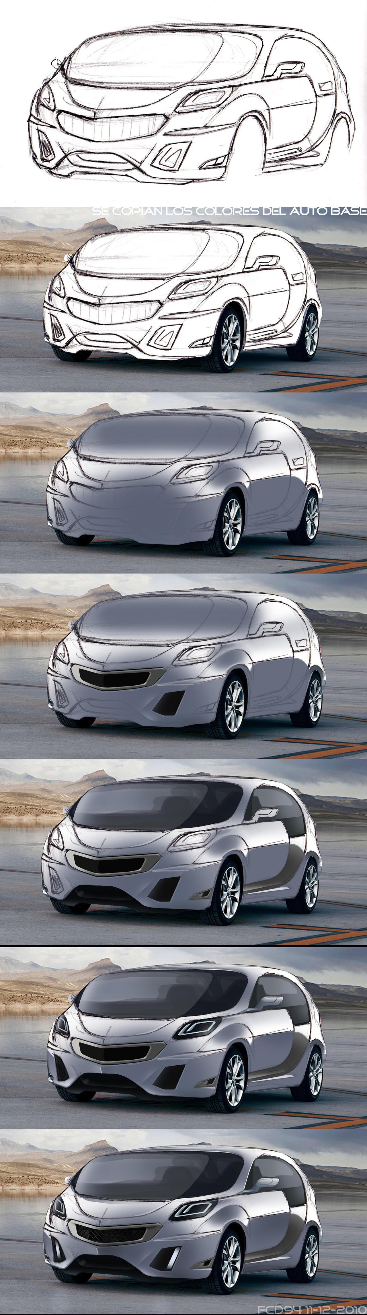 diseño de autos