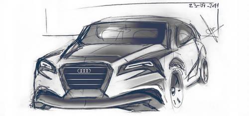 Audi sketch 01 by FCD94