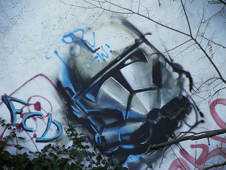 STAR WARS Clone Trooper Graffiti by FCD94 on DeviantArt