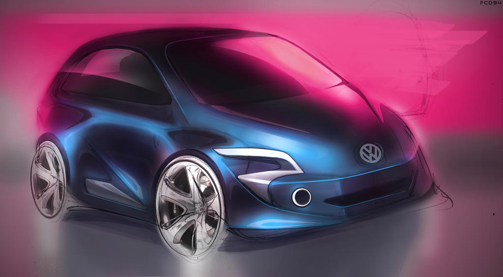 VW - VolksWagen  Sketch by FCD94