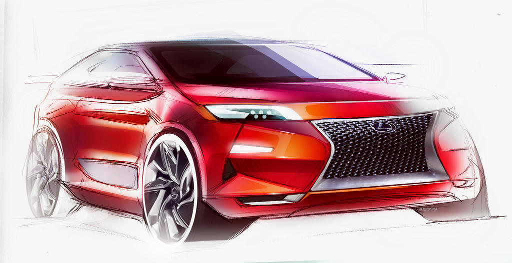Lexus  Sketch by FCD94