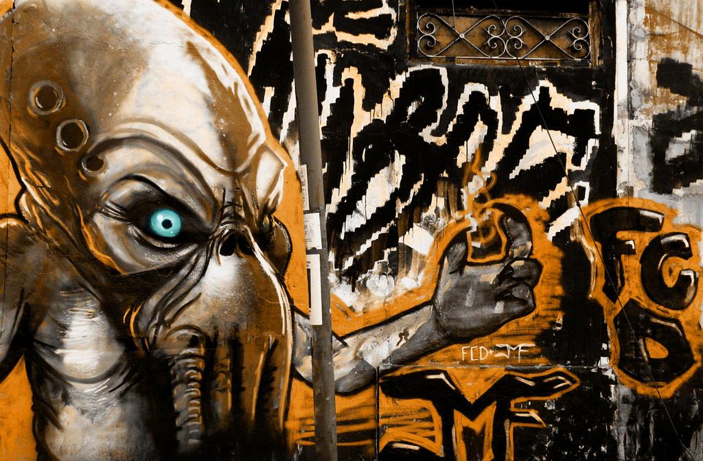 Graffiti Monster ART by FCD94