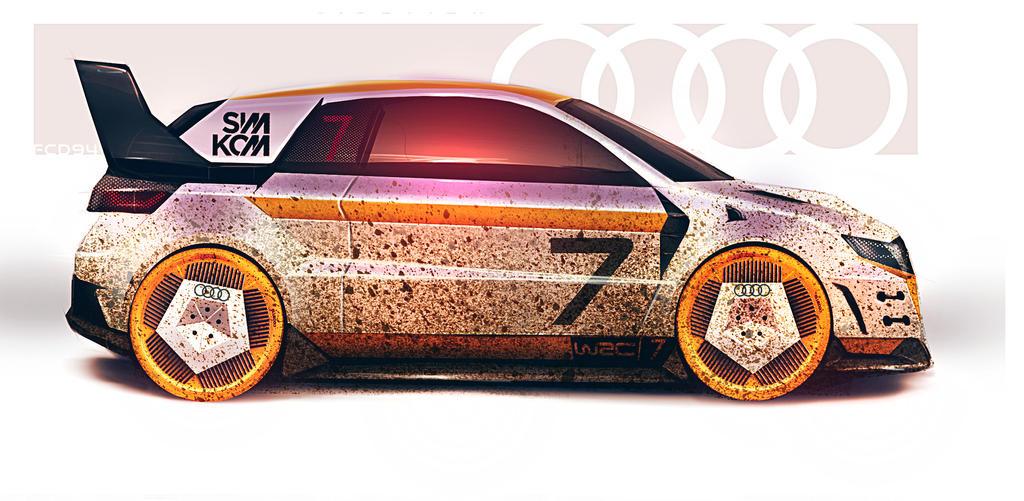 Audi Quattro mini by FCD94