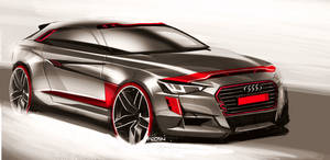Audi Sketch by FCD94