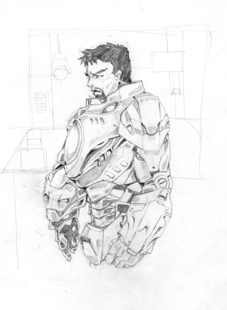Iron man by DOODZKI22