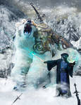 Ice Mage and Battle Bear