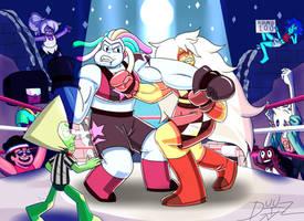 Jasper vs Bismuth by Duuz-Diz-Din