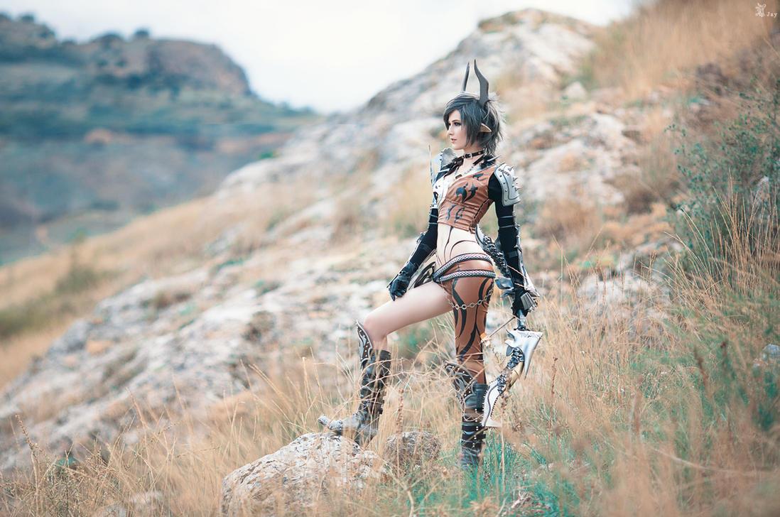 TERA Online - Castanic by LanaTemirova