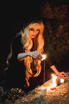 Modern Witchery Cycle (original cosplay)