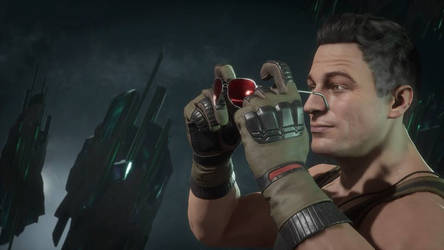 Johnny Cage Screenshot by Futs-Lung-09