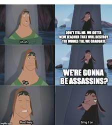 Assassination Classroom In a Nutshell by Gollum123