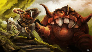 Viking Hunter by desmondWOOT