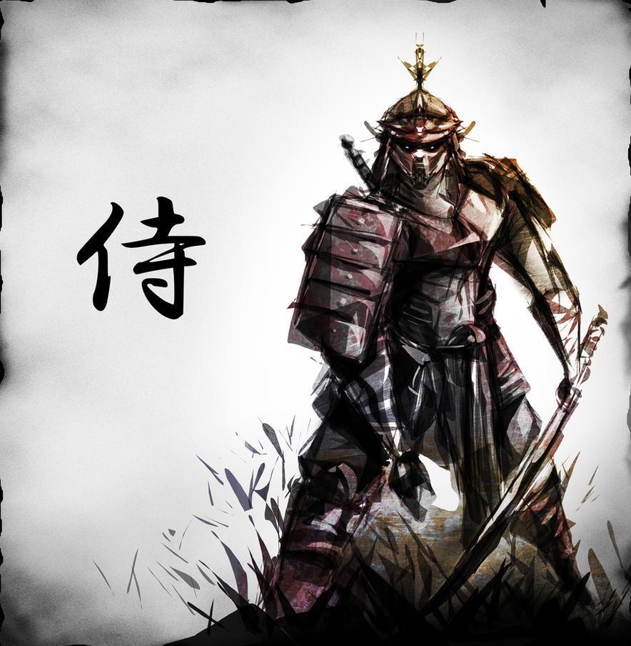 Samurai  by desmondWOO...