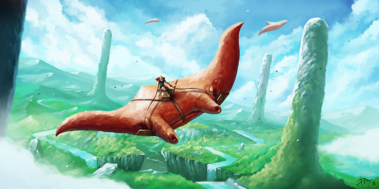 Skyriders by desmondWOOT