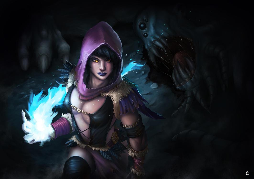 Sorceress by desmondWOOT