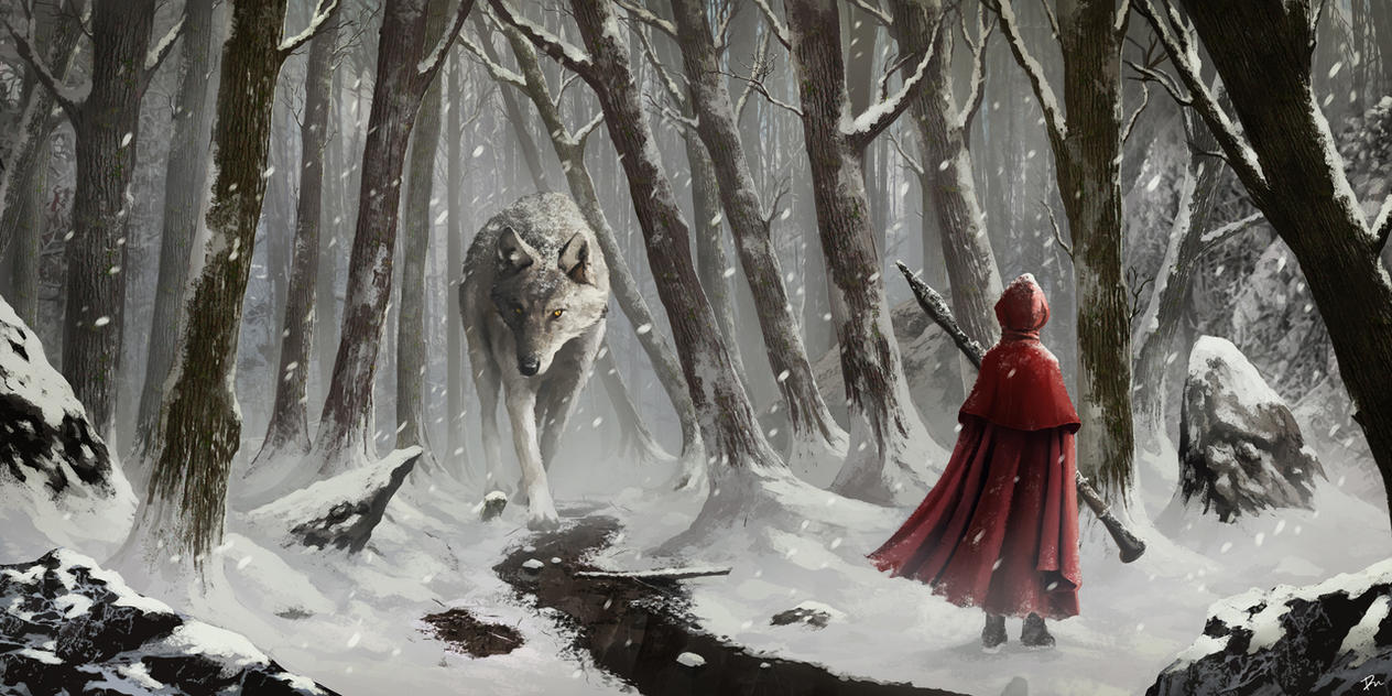 Red riding hood by desmondWOOT