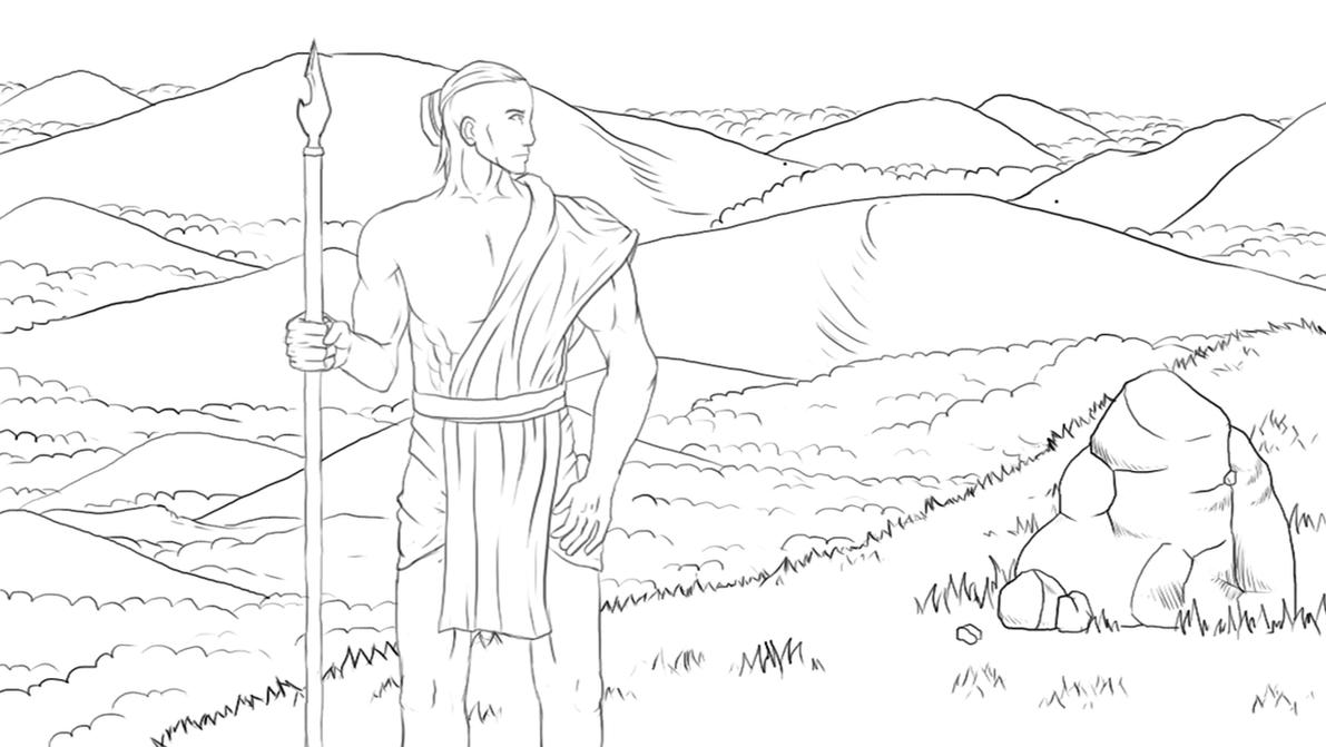 Highland Shepherd by akosimiki