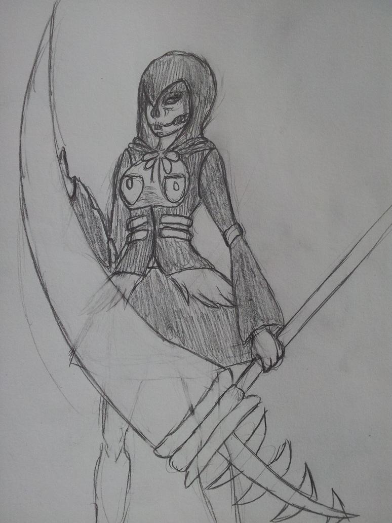 Reaper Girl by Ven101