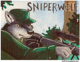 COMMISSION - Sniperwolf by cheekitty