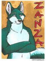 Commission - Zanza by cheekitty
