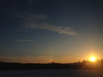 Winter Sunrise by LyDynasty