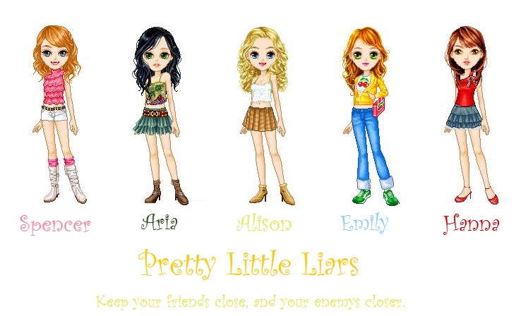 Pretty Little Liars Book Cover Dolls : Pretty little liars cartoons by spencerhastings on deviantart